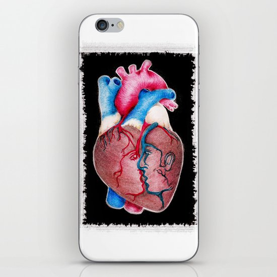 1 HEART 4 2 iPhone & iPod Skin