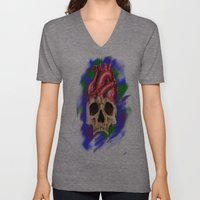 Think With Your Heart Unisex V-Neck