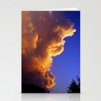 That old sky Stationery Cards
