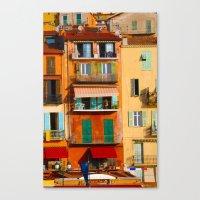 Monaco Canvas Print