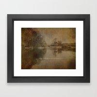 Throxenby Mere Framed Art Print