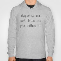 Fire Within Me Hoody