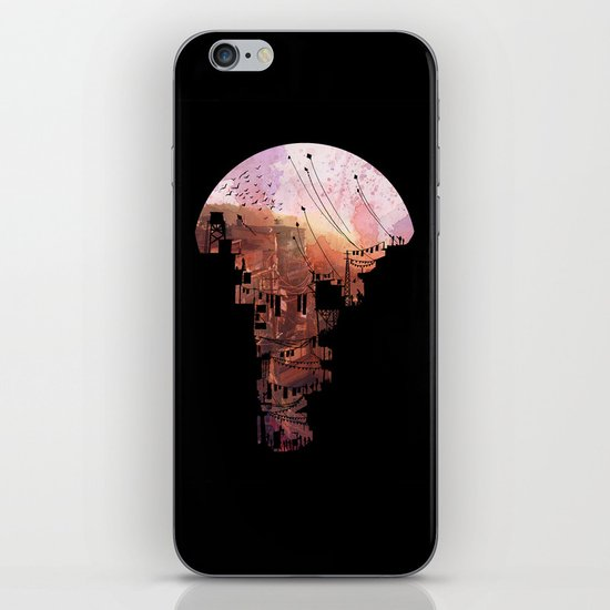 Secret Streets iPhone & iPod Skin