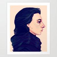 Ben Art Print