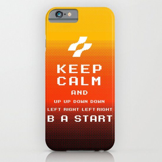 keep calm konami. iPhone & iPod Case