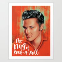 The King Art Print