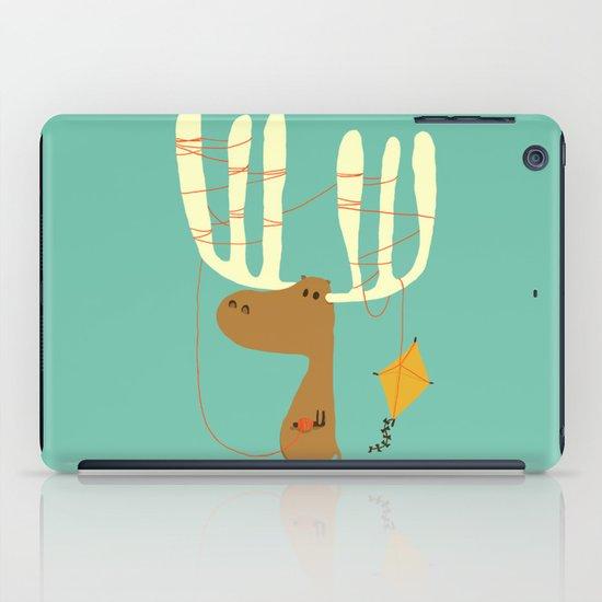 A moose ing iPad Case