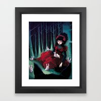 Asleep Framed Art Print
