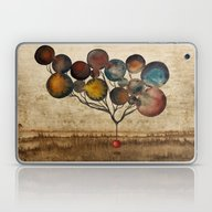 Laptop & iPad Skin featuring A Cosmic Incident by Efi Tolia