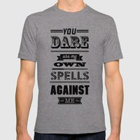 HP Quotes - Half Blood P… Mens Fitted Tee Tri-Grey SMALL