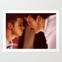 Ste & Brendan II Art Print
