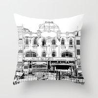Porto III Throw Pillow