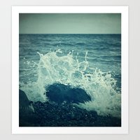 The Sea III. Art Print