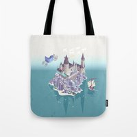 Hogwarts series (year 4: the Goblet of Fire) Tote Bag