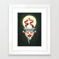 Shinobu Framed Art Print