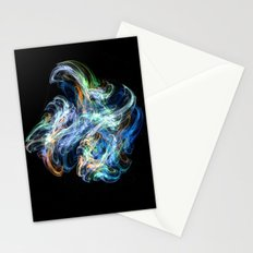 Space Flower Stationery Cards