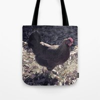 Welsummer In Autumn  Tote Bag