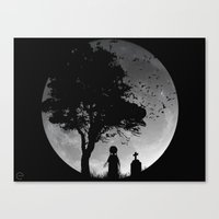 SLEEP WALKER Canvas Print