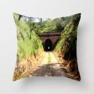 Throw Pillow featuring Cheviot Tunnel #2 by Chris' Landscape Ima…
