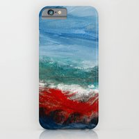 By The Angry Seashore iPhone 6 Slim Case