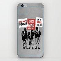 Semi-Protesting iPhone & iPod Skin