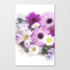 Soft, Sweet and Pretty Canvas Print