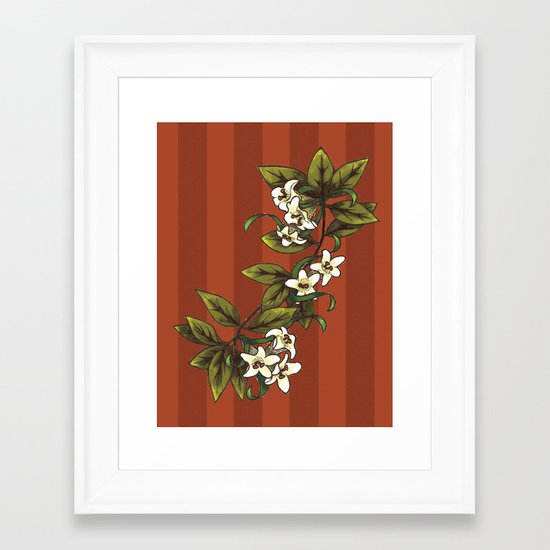 Vintage Flower (1) Framed Art Print