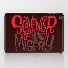 Scavenger of Human Misery iPad Case