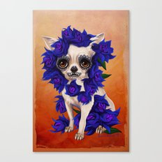 Chihuahua of Death Canvas Print