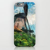 skatching windmill  iPhone 6 Slim Case