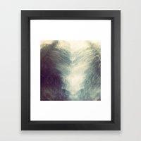 Mirrored Sky Framed Art Print
