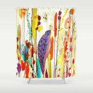 Vers Le Ciel Shower Curtain