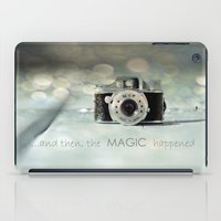 ...and then, the MAGIC happened... iPad Case