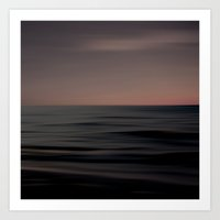 Waves Of Calm  Art Print
