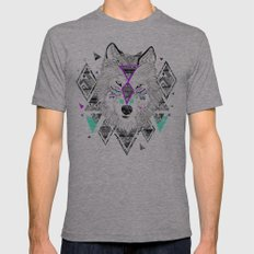 HONIAHAKA by Kyle Naylor and Kris Tate Mens Fitted Tee Athletic Grey SMALL