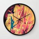 Break Up Wall Clock
