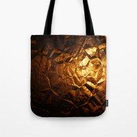 Golden Wrapper Tote Bag