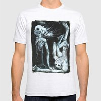 Shivers Mens Fitted Tee Ash Grey SMALL