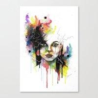 Kasey 2 Canvas Print