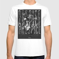Respice, Adspice, Prospice Mens Fitted Tee White SMALL