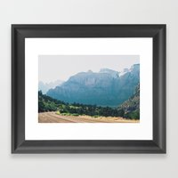 Utah Part 2 Framed Art Print