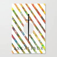 Excalibur Canvas Print
