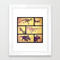 Dino Yearbook 2 Framed Art Print