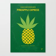 No264 My PINEAPPLE EXPRE… Canvas Print