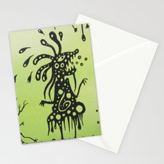 The family portrait Stationery Cards