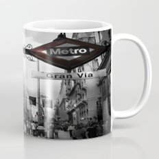 Gran Via-Madrid Mug