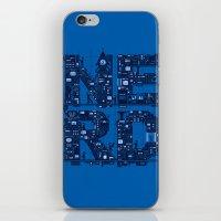 NERD HQ iPhone & iPod Skin