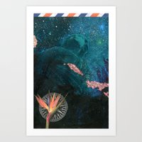 The Figurehead (Anchors Aweigh) Art Print