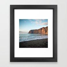 Cliffs of the Giants Framed Art Print