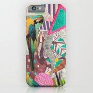 TROPICANA MACAW  iPhone 6 Slim Case